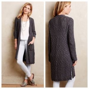 Anthro Knitted & Knotted Daybreak duster cardigan